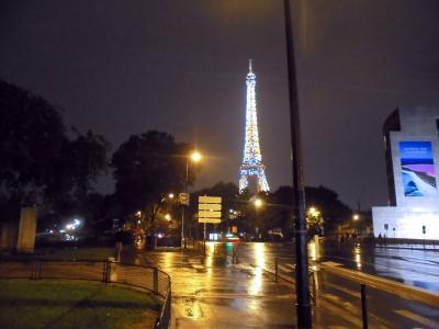 夏のフランス・ベルギー・ルクセンブルク 17.エッフェル塔のシャンパンフラッシュだけ見て帰ろう