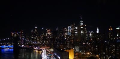 真冬のニューヨーク ナイトツアーと自由の女神遊覧