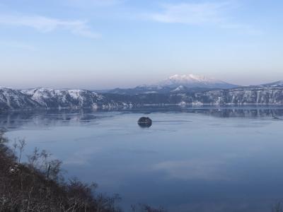 ジュエリーアイス 流氷クルーズ 北海道絶景4日間+陣馬山・高尾山縦走 2日目