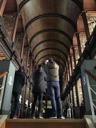 """ロンドン・ナイロビ出張(その53) 14日目-2 おまけのダブリン、""""Old Library"""" !"""