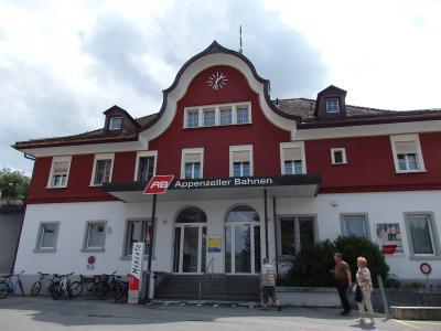 2019夏のスイス旅【38】アローザからアッペンツェルへ