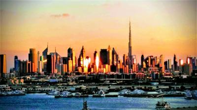 MSCベリッシマで航くアラビアクルーズ(4)-----UAEのドバイ
