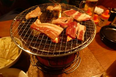 焼肉「元氣七輪焼肉 牛繁」