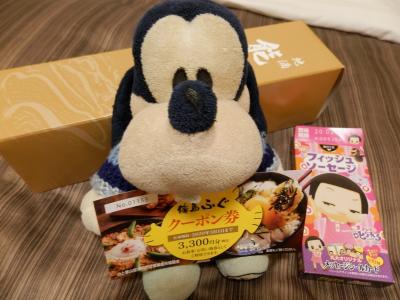 グーちゃん、輪島へ行く!(気づけば大雪!!雪の朝市とキリコ会館!編)