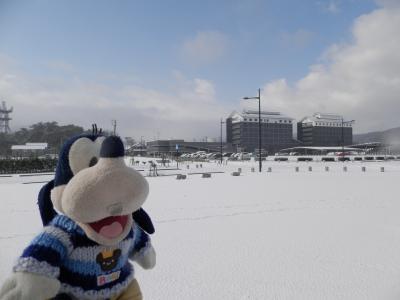 グーちゃん、輪島へ行く!(雪解けの友蔵神社とターピッコ天神様!編)