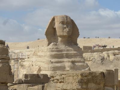 一生に一度だけでいいので行って見てみたいピラミッドを見て来ました!!(*^▽^*)<<2日目の続き~今回の旅の目的地ギザの大スフィンクス>>