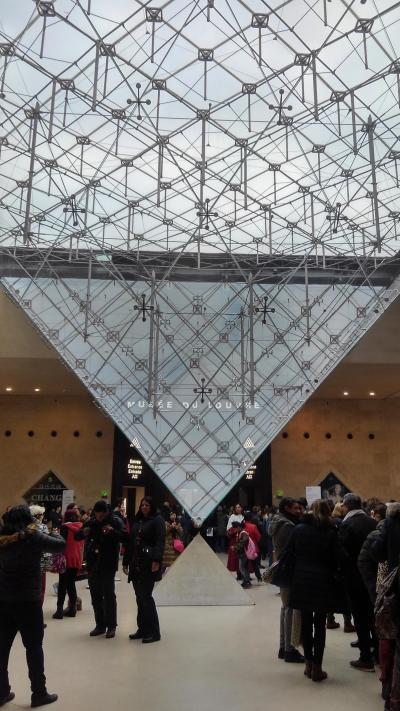 駆け足のルーブル美術館