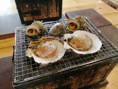 '20 冬の青森旅行4 八戸 八食センター七厘村&市場寿司で昼食