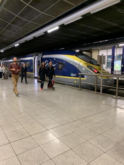 ロンドン、ブリュッセル ぼっち旅⑦ユーロスターでブリュッセルへ!