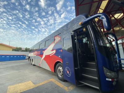 マナグアからサンホセの移動 tica bus