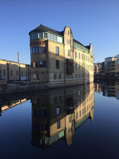 新型コロナウイルス対策で独自路線のスウェーデン  Boråsの朝の風景