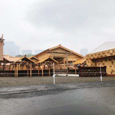 皇居  大嘗宮 雨中の見学