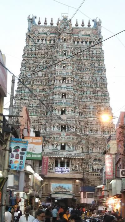 インド コーチン、カンニヤークマリ、マドゥライ、マーマッラプラムの旅 その3
