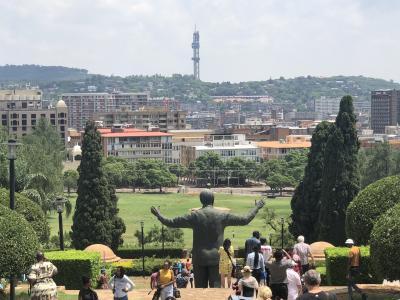 南部アフリカの旅⑥_ロボスレールにお別れ&ちょこっとプレトリア観光