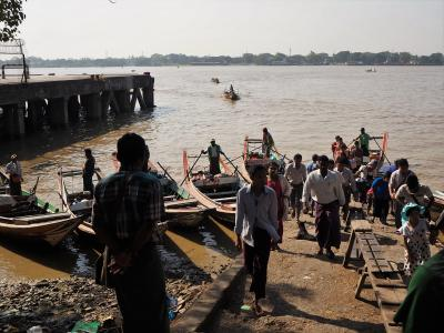 2019年の年末年始、ミャンマー7日目はヤンゴン 朝からだまされる