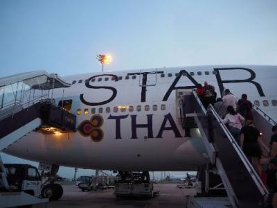 スタアラ系ビジネスクラスを乗りまくるアジア周遊旅①タイ国際航空  札幌=バンコク=プーケット