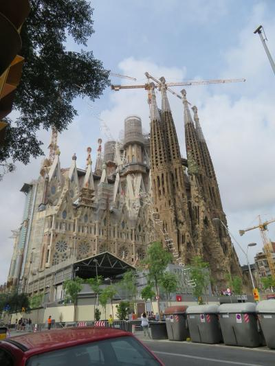 念願のサグラダファミリアでガウディ崇拝(スペインでエルグレコ 灼熱のスペイン2日目その1)