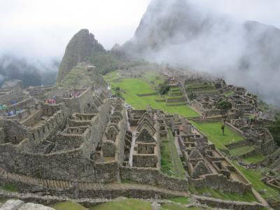 初南米一人旅、遺跡マチュピチュ編。
