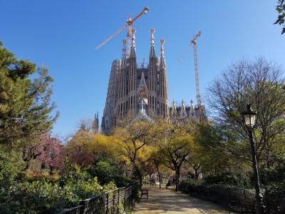 スペインをまわる旅①バルセロナ