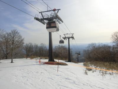 暖冬の那須へ。その② マウントジーンズ那須でスキー