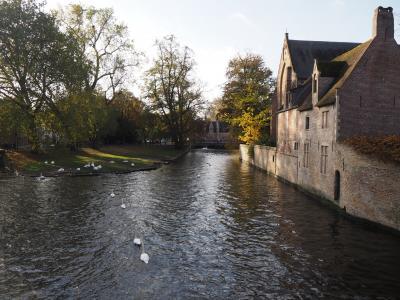 2019秋 独白ルクセンブルク ⑤白耳義2日目前半は、3つの世界遺産がある街ブルージュへ
