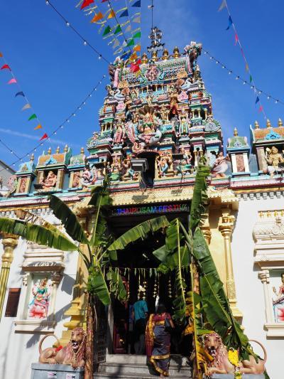 マレーシア一人旅(2020)ペナンのヒンドゥー寺院