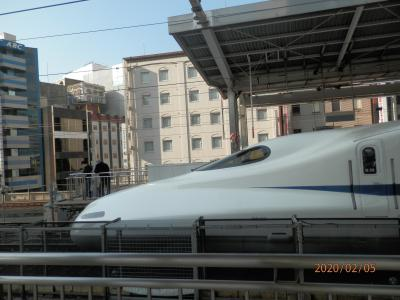 熱海1富士山みえる 15年ぶりの新幹線