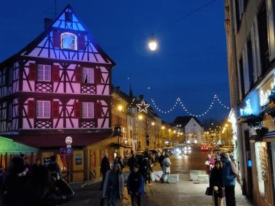 ストラスブールとコルマールのクリスマスマーケット(2、2日目ストラスブールからコルマールヘ コルマール2泊
