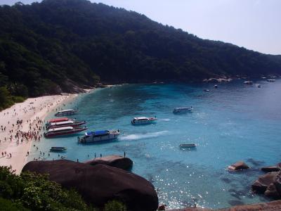 2019-2020 シミラン諸島海の確認とバンコク王道の観光へ まずはカオラック編