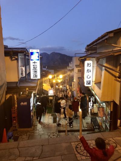 4・6歳児連れ、家族で週末伊香保温泉旅行