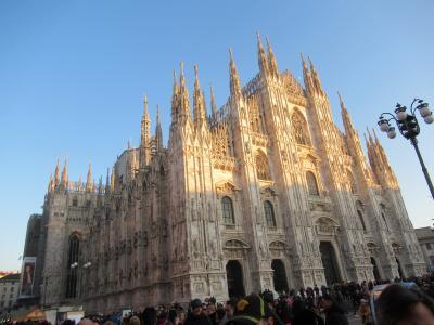 年末年始はイタリアで⑥ ミラノ・最後の晩餐とドゥオモとカルチョのお店へ編