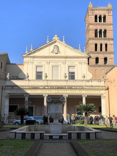 暮らすようにローマ教会巡り(4)トラステヴェレの教会