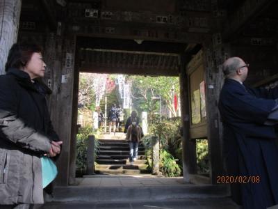 坂東観音霊場巡り(3)鎌倉杉本寺参拝。