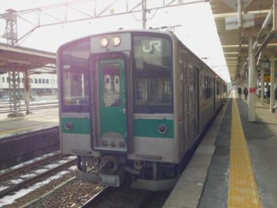 車窓からガンさんとハクチョウさんが見られた小牛田発一ノ関行き普通列車の旅!