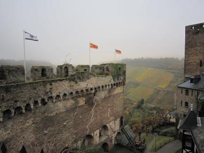 スペイン&ドイツの旅 その3 ライン川周辺と古城ホテル宿泊編