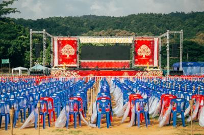 チェンマイコームロイ祭り2019年 インドイサケット