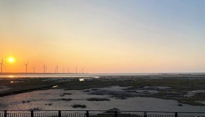 台北と、台中の無為草堂、台中神社跡、宮原眼科、高美湿地の旅