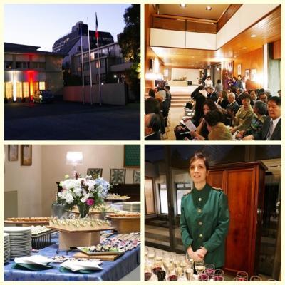 日本の中の外国 ⑦ ー イタリア大使公邸でのチャリティ・コンサートに出席する