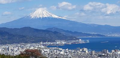 やっぱり富士山は海が似合うー日本平夢テラスにて