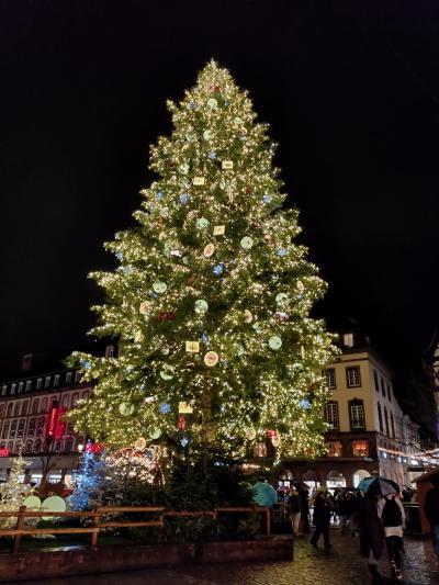ストラスブールとコルマールのクリスマスマーケット(3、コルマールからストラスブールへ