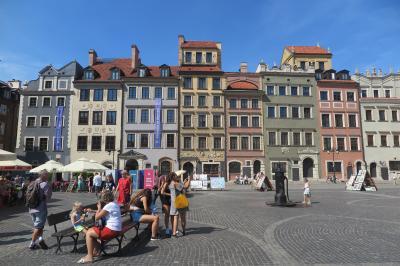 ポーランド・ワルシャワ 3時間トランジット観光