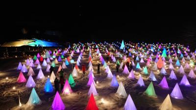 冬の十勝川温泉湯治の旅、光のイベント彩凜華にも行ってみた