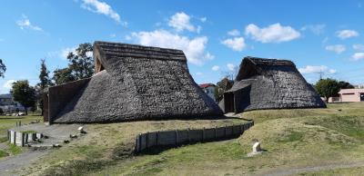日本の2000年前の暮らしを想像する登呂遺跡