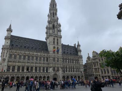 ロンドン、ブリュッセル ぼっち旅⑧あこがれのグランプラス