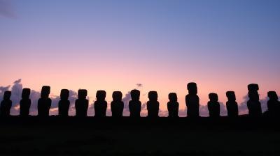 イースター島・サリーナスグランデス・七色の丘への旅①