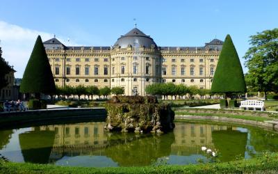 2012夏ベルギーとドイツの旅07:ヴュルツブルク