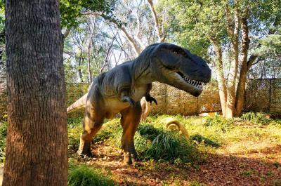 20'お正月。3歳子連れ☆恐竜を見に「安城産業文化公園デンパーク」へ♪in愛知