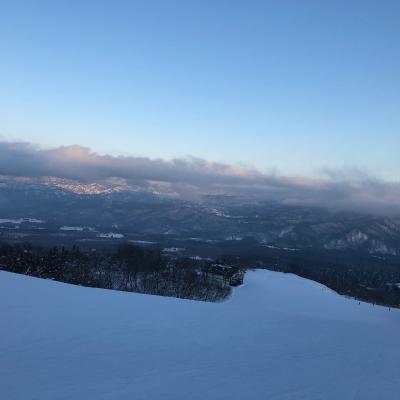 赤倉へスキー旅行