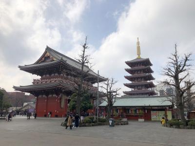 浅草寺に行ってみたら濃厚接触はほとんどなかった