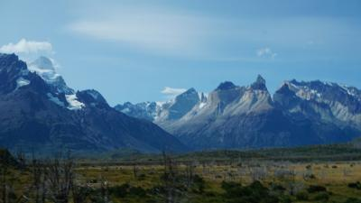 ♪ここは地の果てパタゴニア♪ 7日目 チリ編 パイネ山塊をグルっと周ってグレイ氷河へ